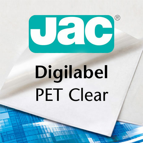JAC® Digilabel PET clear