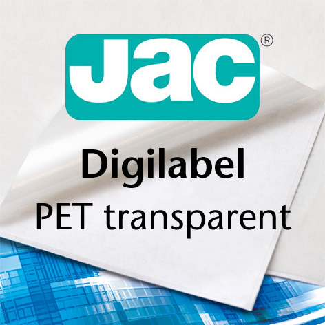 JAC® Digilabel PET transparent