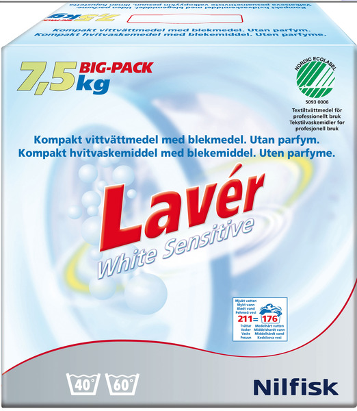 Lavér White Sensitive